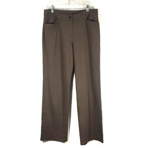 Eileen Fisher Brown Stretchy Dress Pant / M